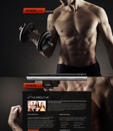 Gym Sport Club web template