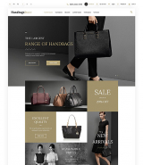Handbags OpenCart Template
