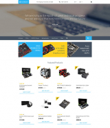Hardware OpenCart Template