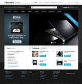Hardware Store web template