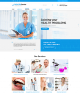 Health Center web template