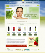 Healthy Life web template