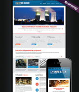 Heavy Industry  web template