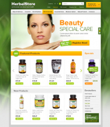 Herbal web template