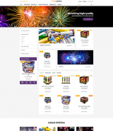 Holiday Responsive OpenCart Template