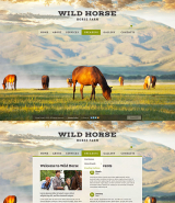 Horses Farm web template