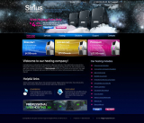 Hosting Company web template