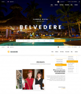 """Hotel Belvedere"" HTML web site template"