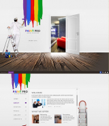 House Painter web template