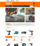 Householders Tools OpenCart Template