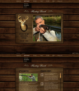 Hunting Ranch web template