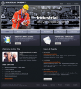 Industrial Company web template