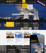 Industrial product web template