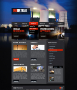 Industrial v2.5 web template