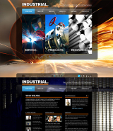 Industrial web template