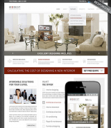 Interior Designing web template