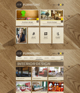 Interior Furniture web template
