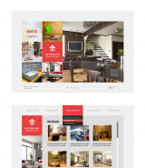 Interior Portfolio web template