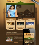 Islam web template