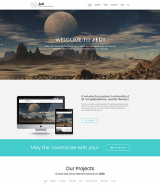 Jedi - Multifunctional Joomla Template