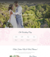 Jen+Ben - One Page Wedding WordPress Theme
