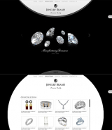 Jewelry Brand web template