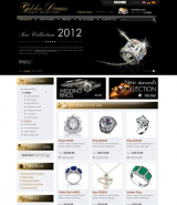 Jewerly store 2.3ver web template