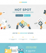 Job Seeker Landing Page Template