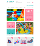 KidFun - Kids Toys & Games Store OpenCart Template
