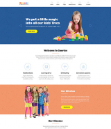 Kids Center Responsive Joomla Template