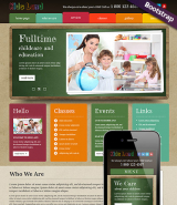 Kids Land web template