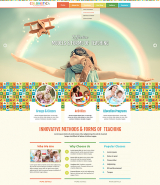 Kindergarten Studio web template HTML