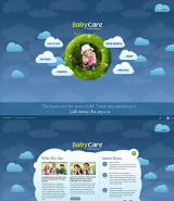 Kindergartnen web template