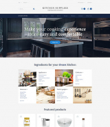 Kitchen Supplies - Kitchen Furniture OpenCart Template + RTL