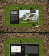 Land Art web template