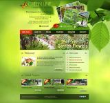 Landscape Design web template