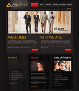 Lawyer Agency web template