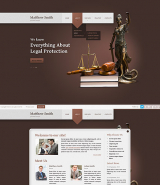 Lawyer web template