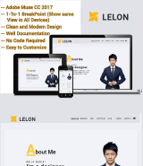 Lelon Creative multipurpose Adobe Muse template