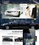 Limo Service web template