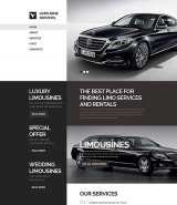 Limo Transportation Website Template