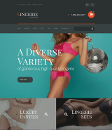 Lingerie OpenCart Template