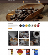 Love Coffee - Coffee House OpenCart Template