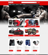 Martial Arts Responsive VirtueMart Template