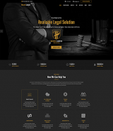 """Master Lawyer"" responsive Wordpress theme"