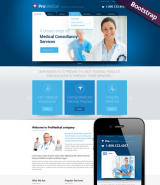 Medical Service web template