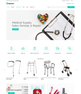 Medicava - Medical Equipment Multipage Clean Shopify Theme