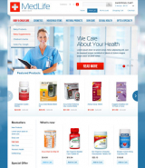 MedLife web template