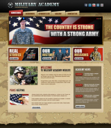 Military Academy v2.5 web template