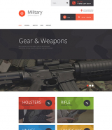 Military Store VirtueMart Template